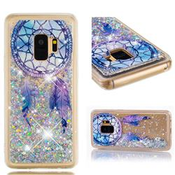 Fantasy Wind Chimes Dynamic Liquid Glitter Quicksand Soft TPU Case for Samsung Galaxy S9