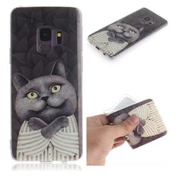 Cat Embrace IMD Soft TPU Cell Phone Back Cover for Samsung Galaxy S9