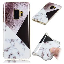 Black white Grey Soft TPU Marble Pattern Phone Case for Samsung Galaxy S9