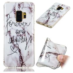 Forever Soft TPU Marble Pattern Phone Case for Samsung Galaxy S9