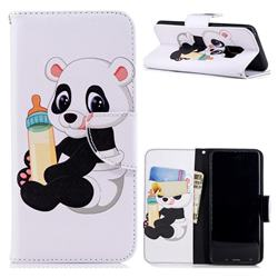 Baby Panda Leather Wallet Case