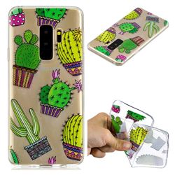 Cactus Ball Super Clear Soft TPU Back Cover for Samsung Galaxy S9 Plus(S9+)