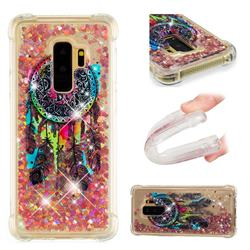 Seal Wind Chimes Dynamic Liquid Glitter Sand Quicksand Star TPU Case for Samsung Galaxy S9 Plus(S9+)