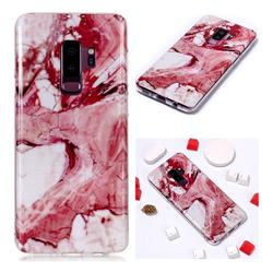 Pork Belly Soft TPU Marble Pattern Phone Case for Samsung Galaxy S9 Plus(S9+)