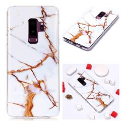Platinum Soft TPU Marble Pattern Phone Case for Samsung Galaxy S9 Plus(S9+)