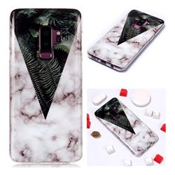 Leaf Soft TPU Marble Pattern Phone Case for Samsung Galaxy S9 Plus(S9+)