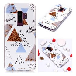 Hill Soft TPU Marble Pattern Phone Case for Samsung Galaxy S9 Plus(S9+)