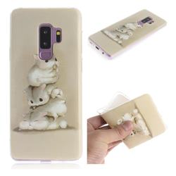 Three Squirrels IMD Soft TPU Cell Phone Back Cover for Samsung Galaxy S9 Plus(S9+)