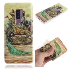 Beast Zoo IMD Soft TPU Cell Phone Back Cover for Samsung Galaxy S9 Plus(S9+)