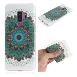 Peacock Mandala IMD Soft TPU Cell Phone Back Cover for Samsung Galaxy S9 Plus(S9+)