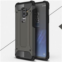 King Kong Armor Premium Shockproof Dual Layer Rugged Hard Cover for Samsung Galaxy S9 Plus(S9+) - Bronze