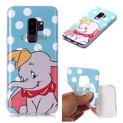 Dumbo Elephant Soft TPU Cell Phone Back Cover for Samsung Galaxy S9 Plus(S9+)