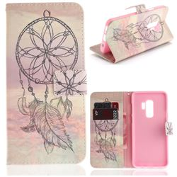 Dream Catcher PU Leather Wallet Case for Samsung Galaxy S9 Plus(S9+)