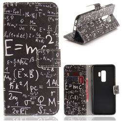 Formula PU Leather Wallet Case for Samsung Galaxy S9 Plus(S9+)