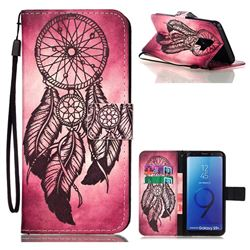 Wind Chimes Leather Wallet Phone Case for Samsung Galaxy S9 Plus(S9+)
