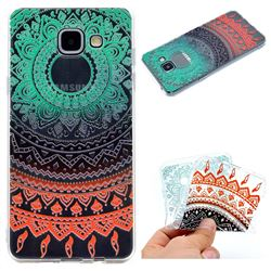 Tribe Flower Super Clear Soft TPU Back Cover for Samsung Galaxy A3 2016 A310