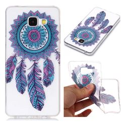 Blue Wind Chimes Super Clear Soft TPU Back Cover for Samsung Galaxy A3 2016 A310