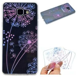 Rainbow Dandelion Super Clear Soft TPU Back Cover for Samsung Galaxy A3 2016 A310