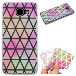 Rainbow Triangle Super Clear Soft TPU Back Cover for Samsung Galaxy A3 2016 A310