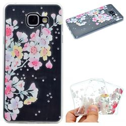 Peach Super Clear Soft TPU Back Cover for Samsung Galaxy A3 2016 A310