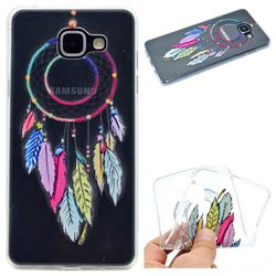 Rainbow Campanula Super Clear Soft TPU Back Cover for Samsung Galaxy A3 2016 A310
