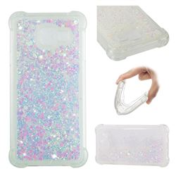 Dynamic Liquid Glitter Sand Quicksand Star TPU Case for Samsung Galaxy A3 2016 A310 - Pink