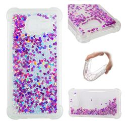 Dynamic Liquid Glitter Sand Quicksand Star TPU Case for Samsung Galaxy A3 2016 A310 - Rose