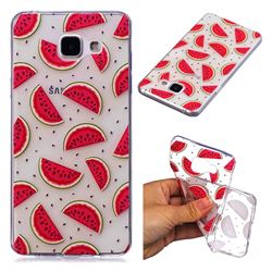 Red Watermelon Super Clear Soft TPU Back Cover for Samsung Galaxy A3 2016 A310