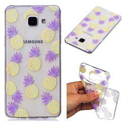 Carton Pineapple Super Clear Soft TPU Back Cover for Samsung Galaxy A3 2016 A310
