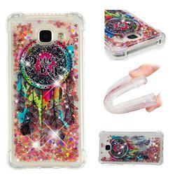 Seal Wind Chimes Dynamic Liquid Glitter Sand Quicksand Star TPU Case for Samsung Galaxy A3 2016 A310