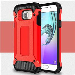 King Kong Armor Premium Shockproof Dual Layer Rugged Hard Cover for Samsung Galaxy A3 2016 A310 - Big Red