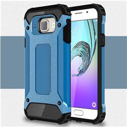 King Kong Armor Premium Shockproof Dual Layer Rugged Hard Cover for Samsung Galaxy A3 2016 A310 - Sky Blue