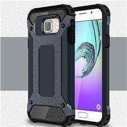 King Kong Armor Premium Shockproof Dual Layer Rugged Hard Cover for Samsung Galaxy A3 2016 A310 - Navy