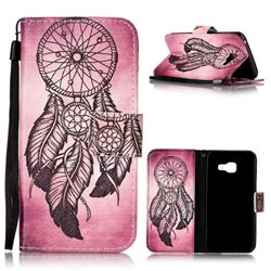 Wind Chimes Leather Wallet Phone Case for Samsung A3 2016 A310