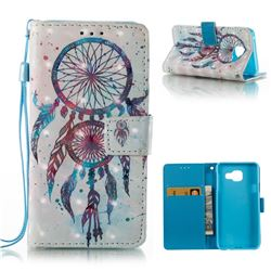 ColorDrops Wind Chimes 3D Painted Leather Wallet Case for Samsung Galaxy A3 2016 A310