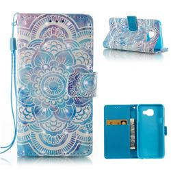 Mandala 3D Painted Leather Wallet Case for Samsung Galaxy A3 2016 A310