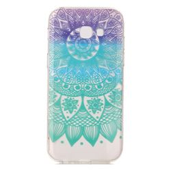 Mandala Wind Chimes Super Clear Soft TPU Back Cover for Samsung Galaxy A3 2017 A320