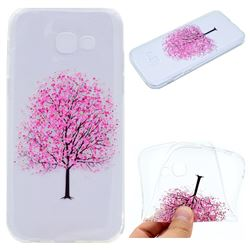 Petals Tree Super Clear Soft TPU Back Cover for Samsung Galaxy A3 2017 A320
