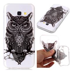 Staring Owl Super Clear Soft TPU Back Cover for Samsung Galaxy A3 2017 A320