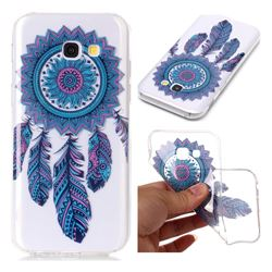 Blue Wind Chimes Super Clear Soft TPU Back Cover for Samsung Galaxy A3 2017 A320