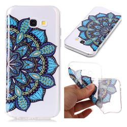 Peacock flower Super Clear Soft TPU Back Cover for Samsung Galaxy A3 2017 A320