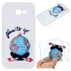 Global Travel Super Clear Soft TPU Back Cover for Samsung Galaxy A3 2017 A320