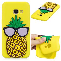 Pineapple Soft 3D Silicone Case for Samsung Galaxy A3 2017 A320