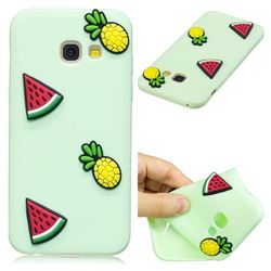 Watermelon Pineapple Soft 3D Silicone Case for Samsung Galaxy A3 2017 A320