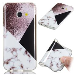 Black white Grey Soft TPU Marble Pattern Phone Case for Samsung Galaxy A3 2017 A320