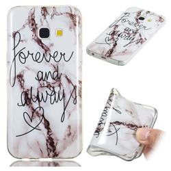Forever Soft TPU Marble Pattern Phone Case for Samsung Galaxy A3 2017 A320