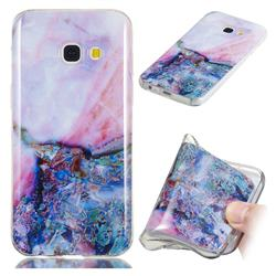 Purple Amber Soft TPU Marble Pattern Phone Case for Samsung Galaxy A3 2017 A320