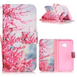 Plum Flower Leather Wallet Phone Case for Samsung Galaxy A3 2017 A320