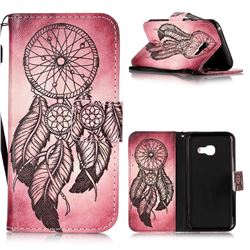 Wind Chimes Leather Wallet Phone Case for Samsung Galaxy A3 2017 A320