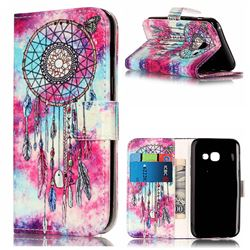 Butterfly Chimes PU Leather Wallet Case for Samsung Galaxy A3 2017 A320